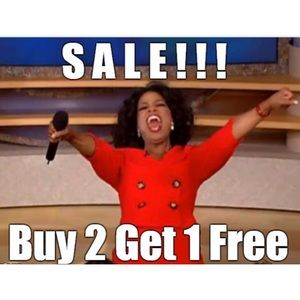 Items that are $15 or less - Buy 2 Get 1 Free !!
