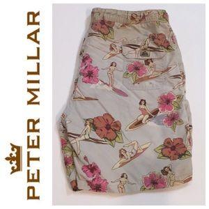 Peter Millar Other - Peter Millar Hawaiian Men's Swim Trunks Medium