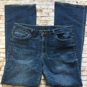 Cache Denim - Cache studded bootcut jeans