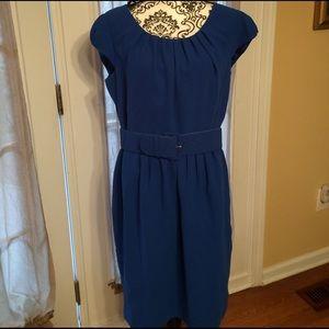 Calvin Klein Dresses & Skirts - Calvin Klein size 14 belted royal blue dress NWOT