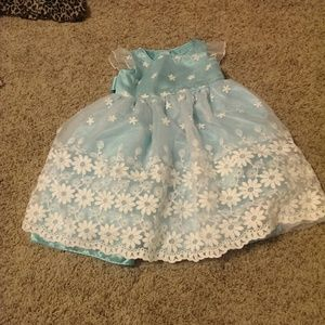 Sweet Heart Rose Other - Baby blue girls dress