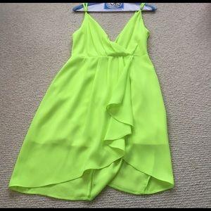 Line & Dot Dresses & Skirts - Neon yellow perfect dress