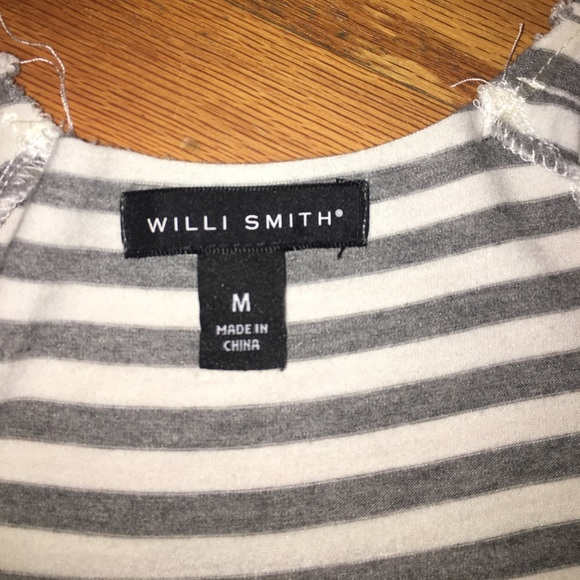 Willi Smith Tops - SOLD Willie Smith striped tunic