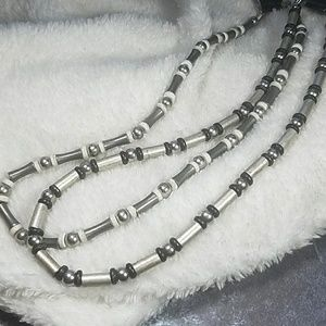 2Pc Rustic Industial Style Necklaces