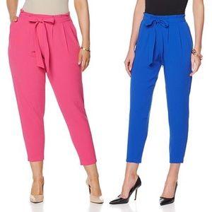 Melissa McCarthy Pants - Melissa McCarthy belted pants