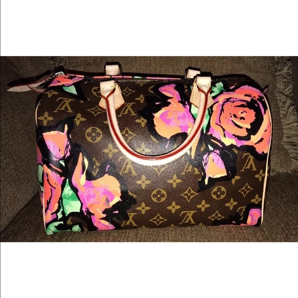 d78dc13fe3bc Louis Vuitton Handbags - Louis Vuitton Stephen Sprouse 30 Rose Replica