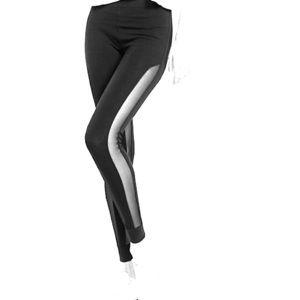 Express side mesh high waist leggings size M