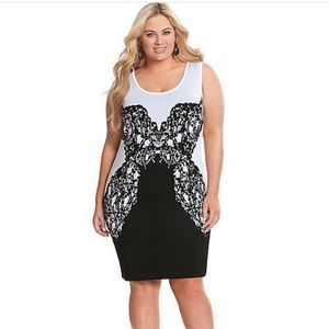 Lane Bryant Dresses & Skirts - 18/20 Lane Bryant 👗Gorgeous black & white dress