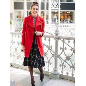 Chicwish Dresses & Skirts - Black plaid full party Midi skirt