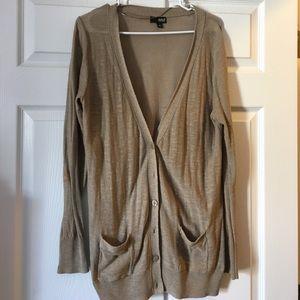 Bonton Sweaters - Tan cardigan