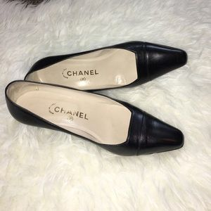 CHANEL Shoes - Classic Black Chanel Heels