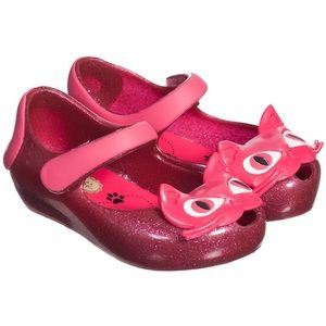 Mini Melissa Other - Mini Melissa - Pink Glitter Cat Jelly Shoes