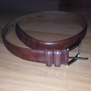 Allen Edmonds Other - Allen Edmonds brown calfskin belt size 34