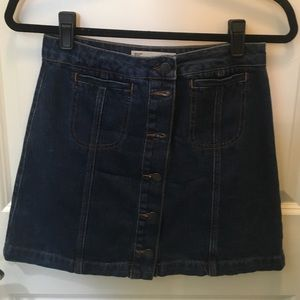 Topshop Dresses & Skirts - Topshop Denim skirt