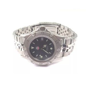 Tag Heuer Other - Tag Heuer Stainless Steel Watch With Diamond Bezel