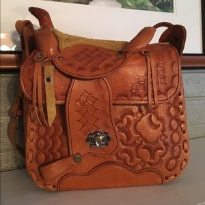 Handbags - SALE!! Saddle Shaped Bag! Price firm!!