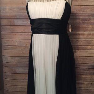 Dress Barn Dresses & Skirts - Dressbarn NWT black and white cocktail dress ❤️