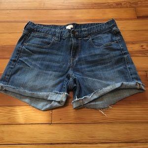J Crew Factory Jean Shorts Size 10