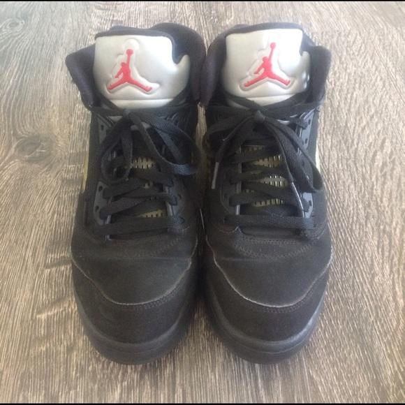 489afa84f2b87f Nike air Jordan V 5 retro boys 100% authentic! M 58cc1605b4188e5ca3011631