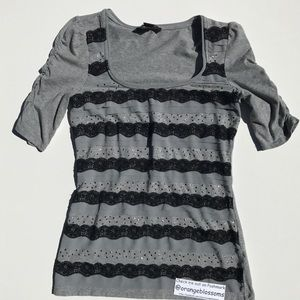 White House Black Market Tops - WHITE HOUSE BLACK MARKET T SHIRT BLOUSE TOP SZ XS