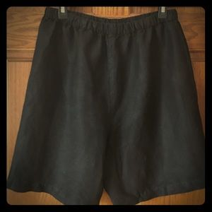 In Due Time Pants - Classy Black maternity shorts