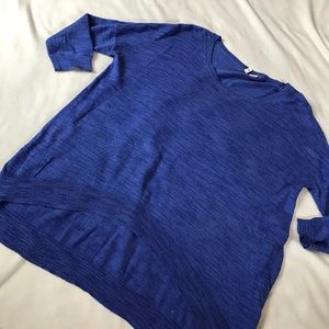 Anthropologie Sweaters - Moth Reese Royal Blue Oversized Sweater