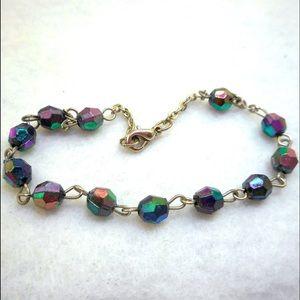 Jewelry - Aurora Borealis Bead Bracelet