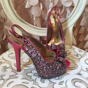 Night Moves Shoes - Multi colored high heels