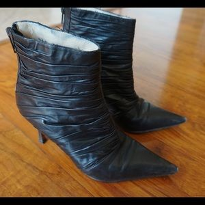 "Authentic 3"" Heel Manolo Blahnik Booties"