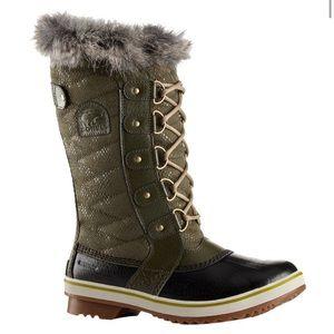 Sorel Shoes - Waterproof Sorel Boots Torfino II - olive green