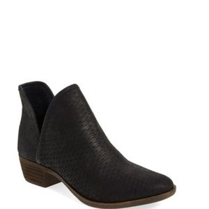 Lucky Brand Shoes - Lucky Brand Perforated Booties