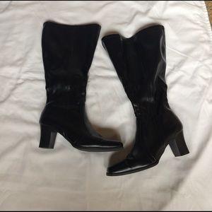Cute heeled boots