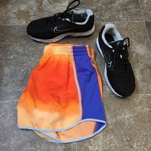 Nike Pants - Orange Nike dri fit shorts