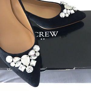 J. Crew Shoes - J.Crew Jeweled Heels