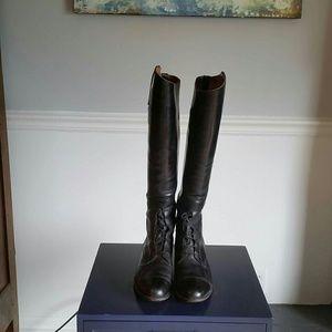 Custom Shoes - Vintage riding boots, size 9, GORGEOUS!