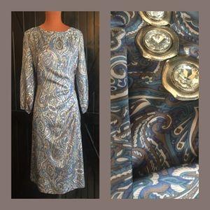 Vintage 100% Silk Dress
