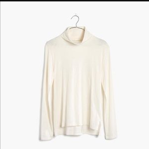 Madewell whisper cotton turtleneck-new!