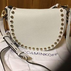 Rebecca Minkoff Studded Saddle Bag