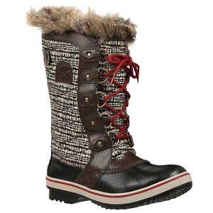 Sorel Shoes - Sorel waterproof boots- brown/burgundy