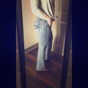 Express Denim - Express Rerock boot cut jeans