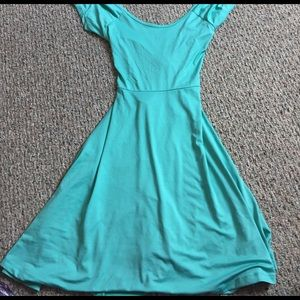 Rue 21 turquoise dress