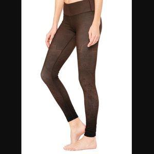 Pants - NWT Alo Yoga Mink Casbah Leggings