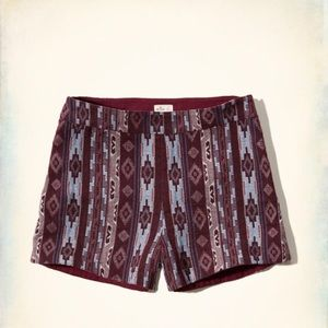 Hollister Pants - Hollister Printed Jacquard Tap Shorts. NWT