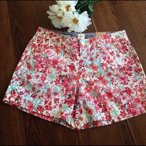 Bass Pants - NWT G.H.Bass floral shorts