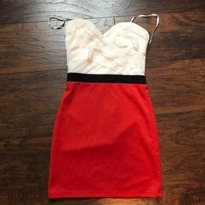 zinga Dresses & Skirts - Strapless dress size S