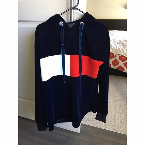 Tommy Hilfiger Gigi Hadid Logo Sweatshirt, Blue