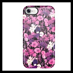 speck Accessories - Speck Presido Inked Case Pink Flowers