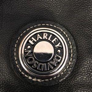Harley-Davidson Bags - HD BLk Leather Medium Hobo purse