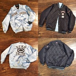 Ecko Unlimited Other - ECKO - Reversible coach's/bomber jacket