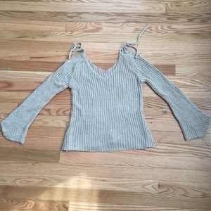 goodnight Macaroon Sweaters - Off the shoulder sweater - fits like XS